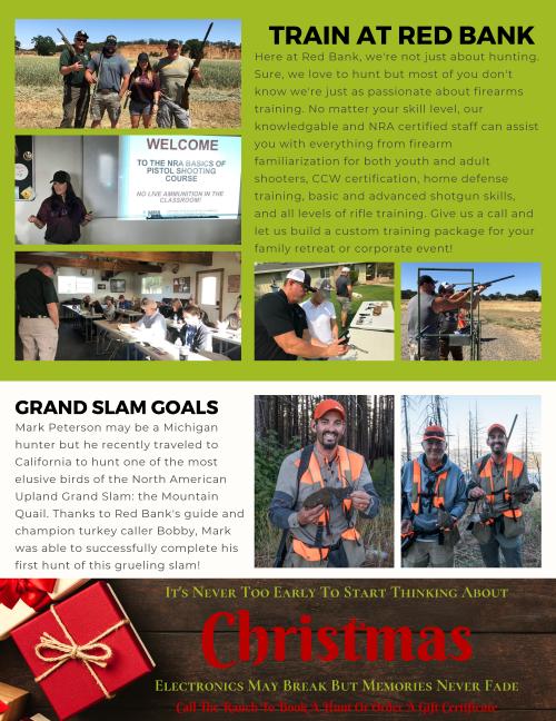 Red Bank Newsletter November 2019 - 2 Resized